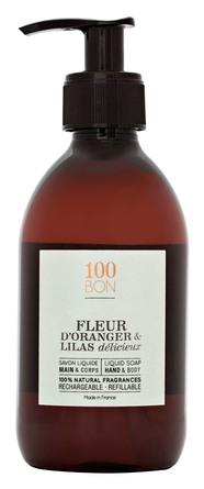 100BON Hand Soap Fleur D'Oranger & Lilas Delicieux 300 ml