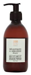 100BON Hand Soap Heliotrope & Amande Douce, 300 ml