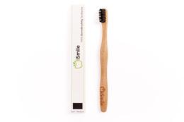 iSmile Bamboo Tandbørste - Sort Sort