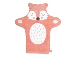Södahl Frida Fox Vaskehandske Orange 11 x 21 cm