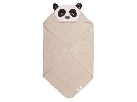 Södahl Penny Panda Håndklæde Natur 80 x 80 cm