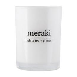 Meraki Duftlys White Tea & Ginger