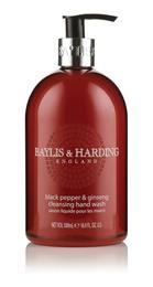 Baylis & Harding Håndsæbe Sort Peber & Ginseng 500 ml