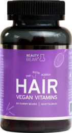 Beauty Bear HAIR Vitamins  60 gummies