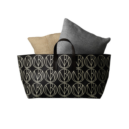 Malene Birger Darling Monogram House Bag Low (40 x 65 x 38 cm)
