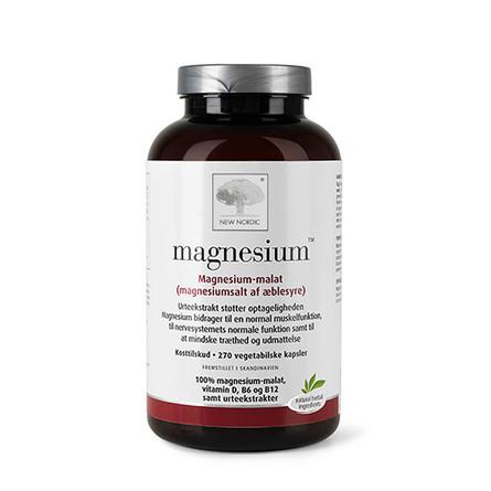 New Nordic Magnesium 270 kapsler