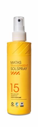 Matas Striber Transparent Solspray SPF 15 200 ml