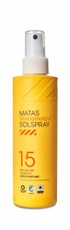 Matas Striber Transparent Solspray SPF 15 200 ml