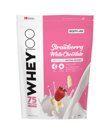 BodyLab Whey 100 Strawberry & White Chocolate 1 kg