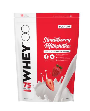 BodyLab Whey 100 Strawberry Milkshake 1 kg