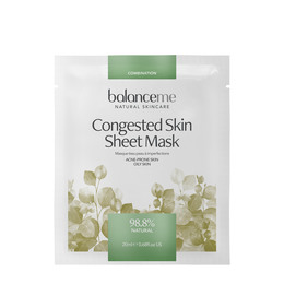 Balance Me Congested Skin Sheet Mask 4 stk.