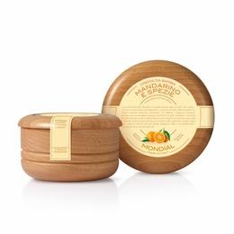 Mondial Barbercreme, Mandarin & Spice, 140 ml.