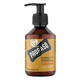 Proraso Skægshampoo, Wood & Spice, 200 ml.