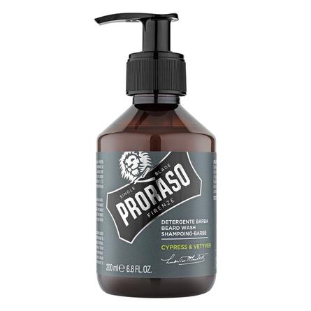 Proraso Skægshampoo, Cypress & Vetiver, 200 ml.