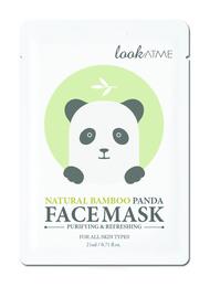 Look At Me Natural Bamboo Panda Face Mask 1 stk