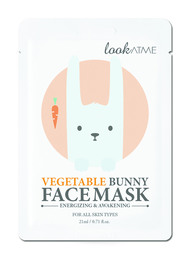 Look At Me Vegetable Bunny Face Mask 1 stk