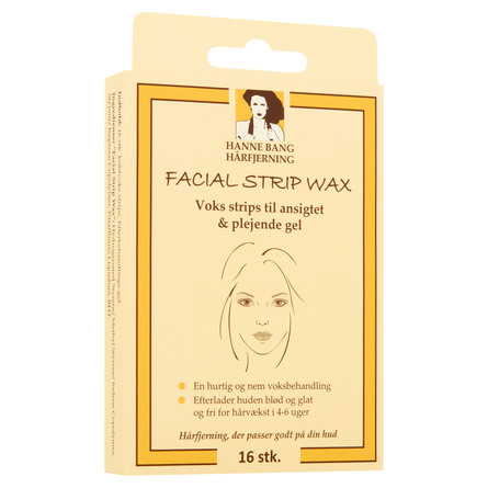 Hanne Bang Facial Strip Wax 16 stk