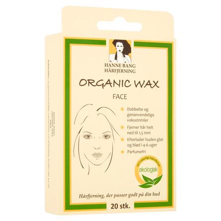 Hanne Bang Organic Wax Face 20 stk