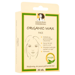 Hanne Bang Organic Wax Face 20 stk