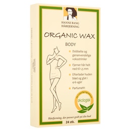 Hanne Bang Organic Wax Body 24 stk