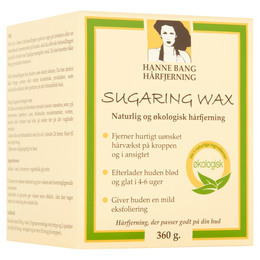 Hanne Bang Organic Sugaring Wax 360 g + 10 Strips