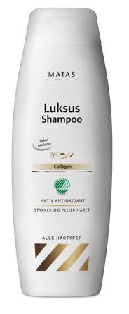 Matas Striber Luksus Shampoo til normalt hår uden parfume 500 ml
