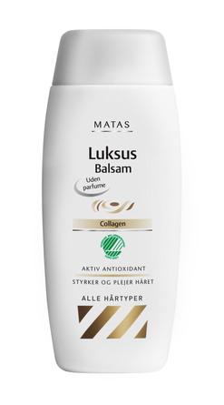 Matas Striber Luksus Balsam til Normalt Hår Uden Parfume 75 ml, rejsestørrelse