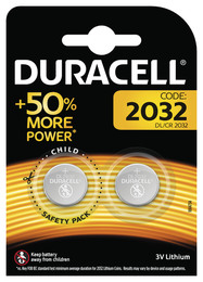 Duracell CR2032 Batterier 2-Pak