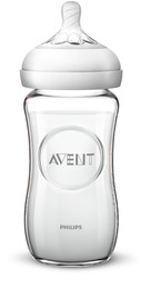 Philips Avent Glas Sutteflaske V2 240 ml