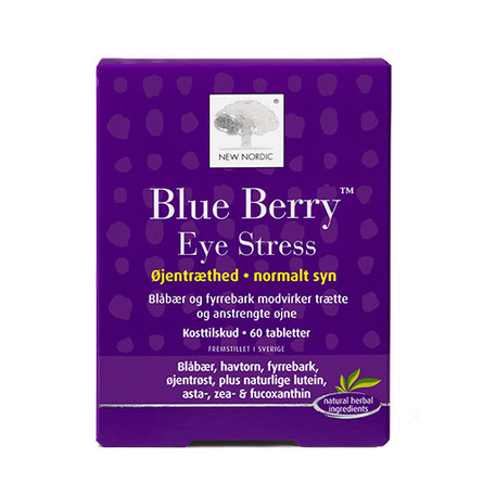 New Nordic Blue Berry™ Eye Stress 60 tab 60 kaps.