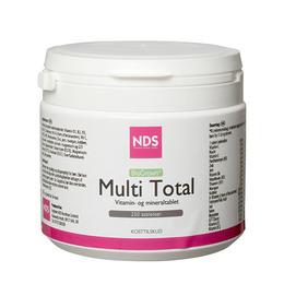 Multi Total multivitamin og mineral 250 tab