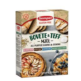 Semper Boghvede & teff mel  500 gr. Glutenfri