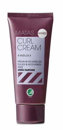 Matas Striber Curl Cream Uden Parfume 30 ml, rejsestørrelse