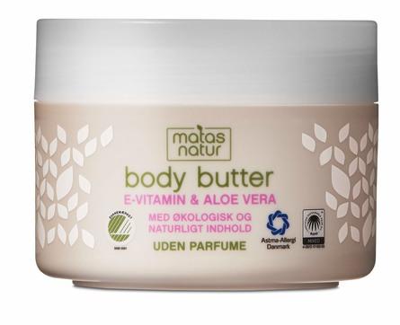 Matas Natur Aloe Vera & E-vitamin Body Butter 200 ml