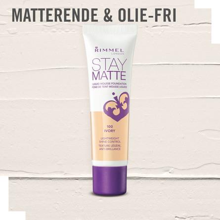 Rimmel Stay Matte Foundation 100 Ivory