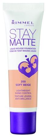 Rimmel Stay Matte Foundation 200 Soft Beige