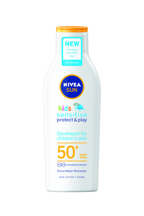 Nivea Sun Kids Sensitive Protect & Play Lotion SPF 50 200 ml