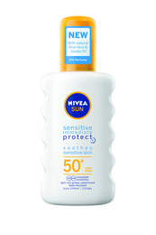 Nivea Protect & Sensitive Spray SPF 50 200 ml