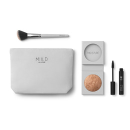 MIILD Golden Glow Beauty Bag