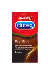 Durex Real Feel (latexfri) kondom 6 stk