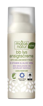Matas Natur BB lys Ansigtscreme 50 ml