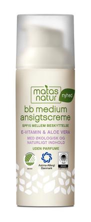 Matas Natur BB medium Ansigtscreme 50 ml