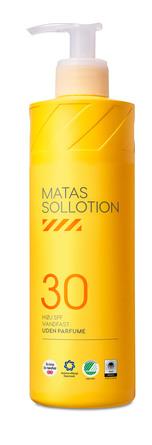 Matas Striber Sollotion SPF 30 med Pumpe 400 ml