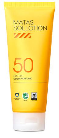 Matas Striber Sollotion SPF 50 Uden Parfume 200 ml