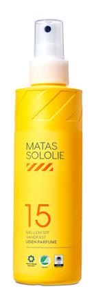 Matas Striber Sololie SPF 15 Uden Parfume 200 ml