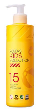 Matas Striber Kids Solsollotion SPF 15 Uden Parfume 400 ml