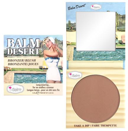 The Balm Bronzer & blush Balm Desert