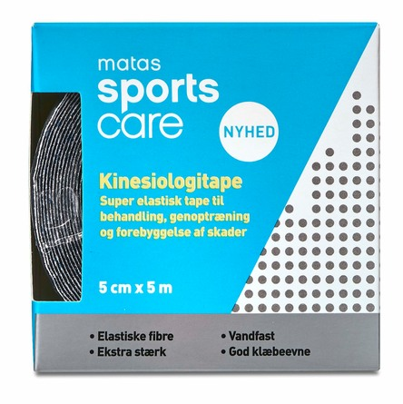 Matas Sports Care Kinesiologitape 5 cm x 5 m
