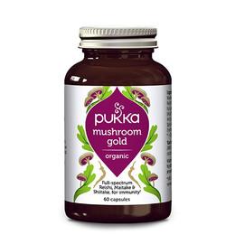 Mushroom gold Ø Pukka 60 kap