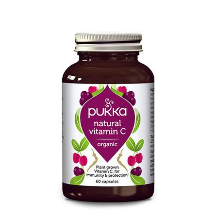C-vitamin Natural Ø Pukka 60 kap